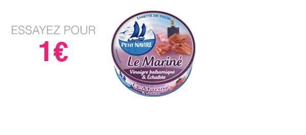 Thon Le Mariné Vinaigre & Echalote