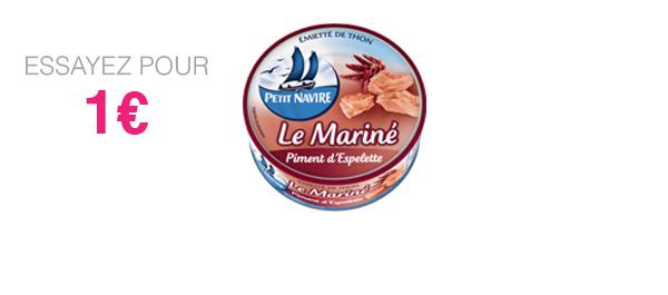 Thon Le Mariné Piment d'Espelette