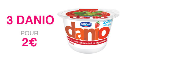 3 pots de Danio