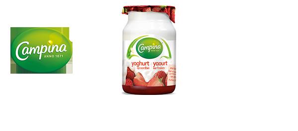 Campina Yaourt sur Fruits