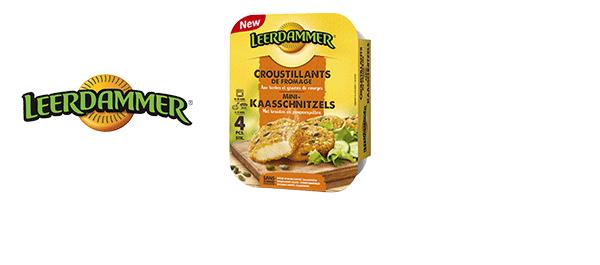 LEERDAMMER Mini-Kaasschnitzels