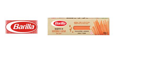 Pâtes 100% légumes secs BARILLA