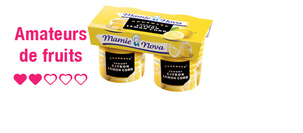 Yaourts Gourmand® Mamie Nova x2