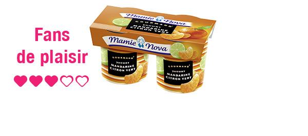 Yaourts Gourmand® Mamie Nova x3