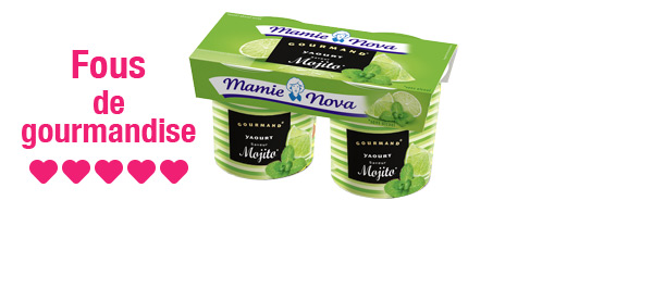 Yaourts Gourmand® Mamie Nova x5