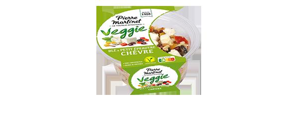 Les salades VEGGIE Pierre Martinet