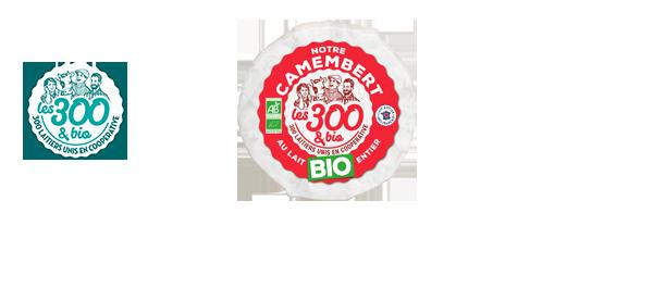 Nos fromages Les 300&bio