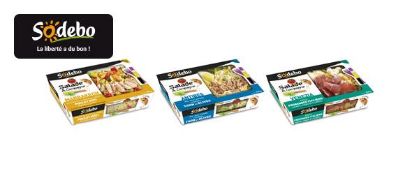 Salade & Compagnie Sodebo