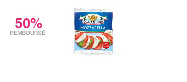 Mozzarella de vache 125g ou 150g