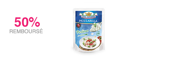 Mozzarella Perlines 120g