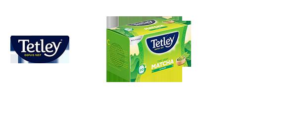 Thés Matcha Tetley