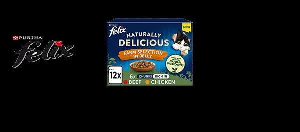 Felix Naturally Delicious Cat Food