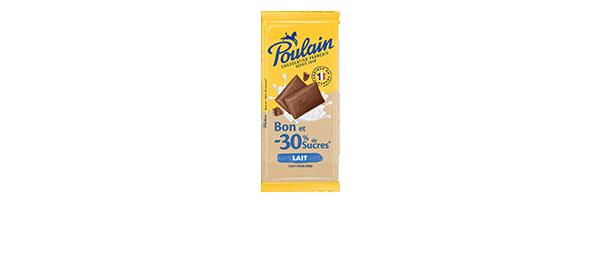 Notre chocolat -30% de sucres