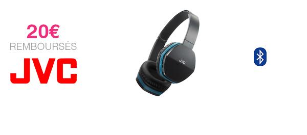 Casque Bluetooth JVC
