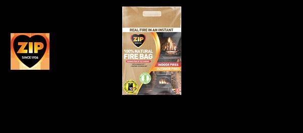 NEW Zip 100% Natural Firebag
