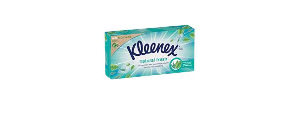 Mouchoirs Kleenex® Natural Fresh