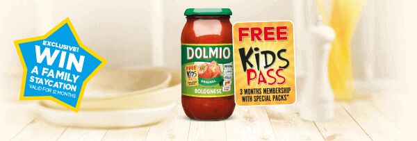 Chance to win with Dolmio!