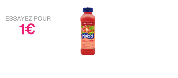 Naked Red machine 45cl