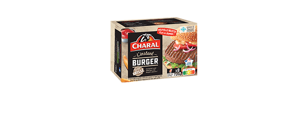 Steaks hachés Charal