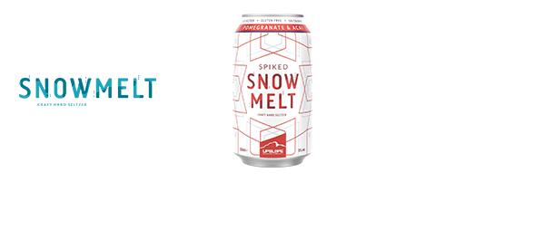 Snowmelt le craft hard seltzer