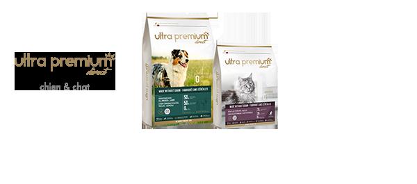 Croquettes premium chien & chat