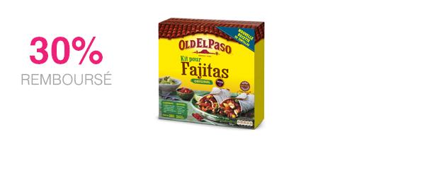 Old El Paso Kit pour Fajitas