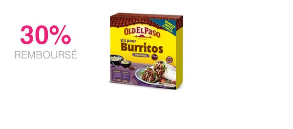 Old El Paso Kit pour Burritos
