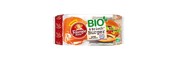 4 Brioch' Burger BIO