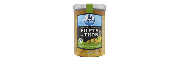Filets de Thon en bocal Petit Navire