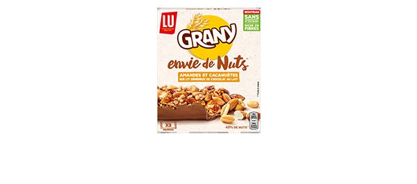 Nouvelle barre de Grany Envie de Nuts*
