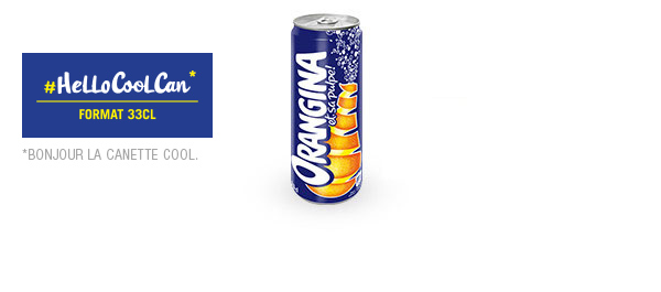 Orangina Cool Can 33cl