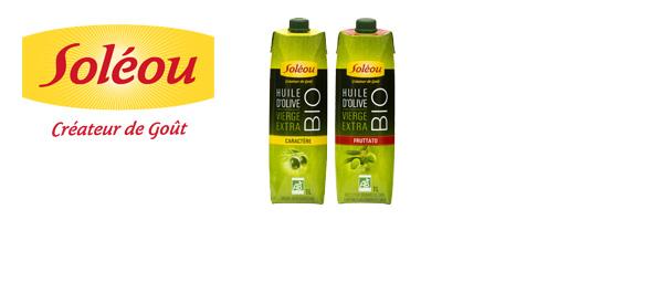Les Huiles d'Olive Biologiques Soléou