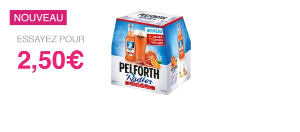 Pelforth Radler Orange/Orange Sanguine