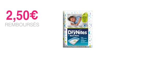 DRYNITES® alèse BedMats 3-15 ans