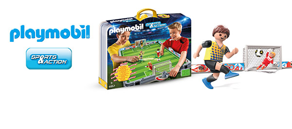 En avant le football PLAYMOBIL !