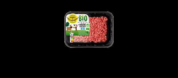 Les viandes hachées Bio