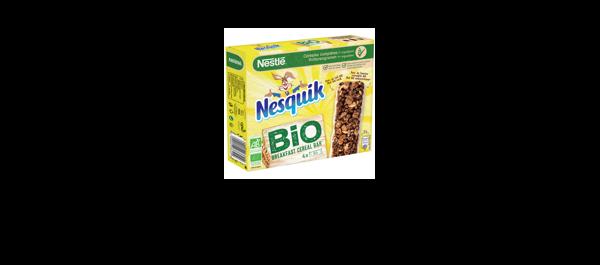Barres De Céréales NESQUIK® BIO 4x25g