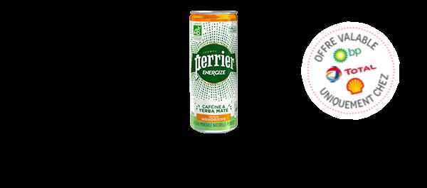 Perrier Energize saveur mandarine