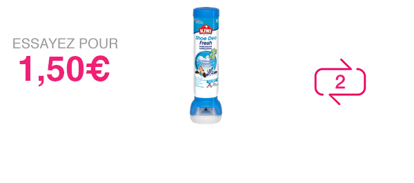 Shoe Deo Fresh antibactérien