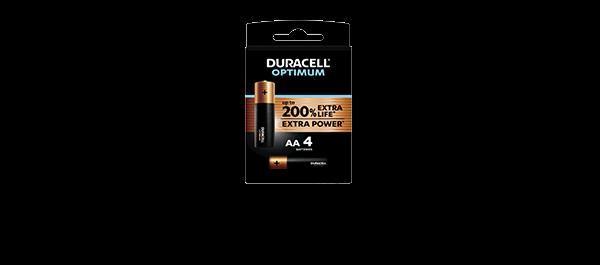 Duracell Optimum 4 Piles