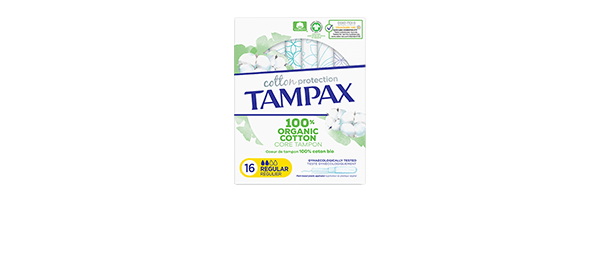 Tampax Cotton Protection Tampons