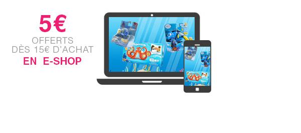 Sur sites e-commerçants éligibles