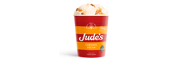 Jude's Caramel Pecan 460ml