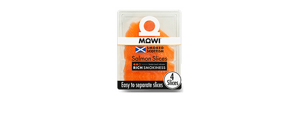 MOWI Rich Smoked Salmon Slices 100g