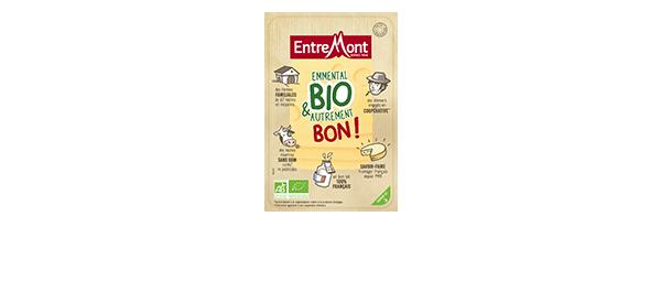 Tranches Emmental Bio Entremont