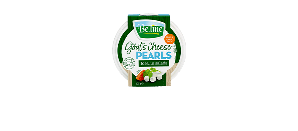 Bettine Mild Goat's Cheese Pearls 100g