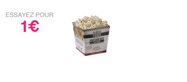 Popcorn Box Sucré