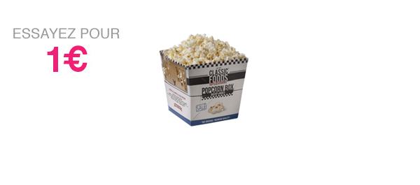 Popcorn Box Salé