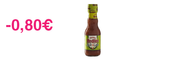 Frank's RedHot Sauce Chilli'n Lime