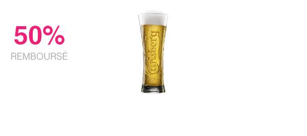 Carlsberg en pression 50cl